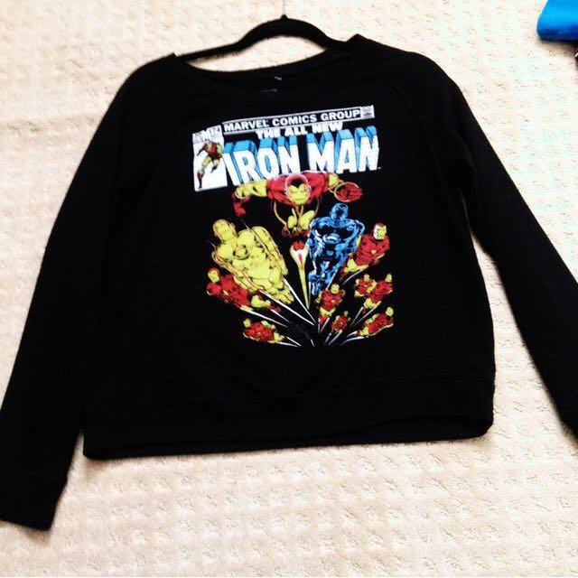 Authentic Marvel Sweater