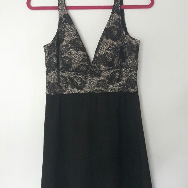 Black & Lace Dress