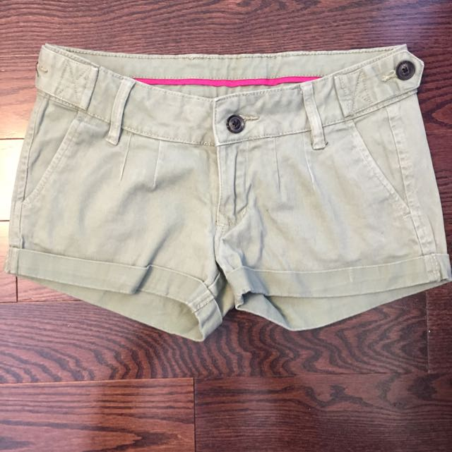 Bluenotes Olive Shorts