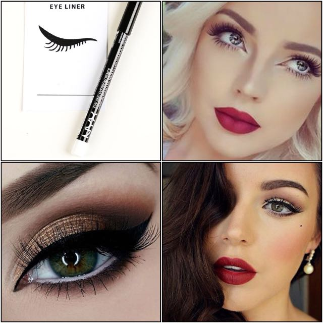 [BN] NYX Slim Eye Pencil, White
