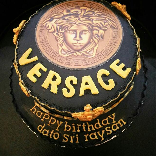 Cake Branded Versace Birthday Party Luxury Bags Wallets On Carousell