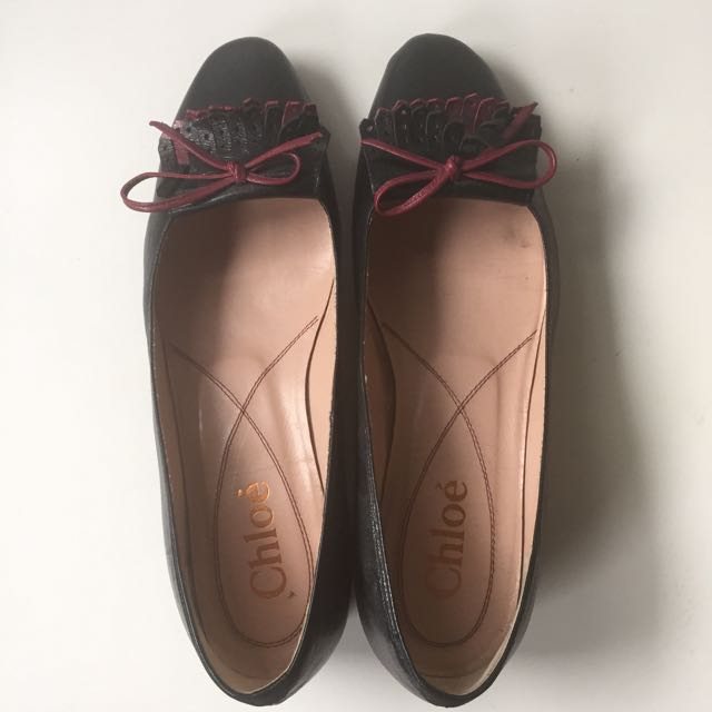Chloé Kitten Heels Shoes