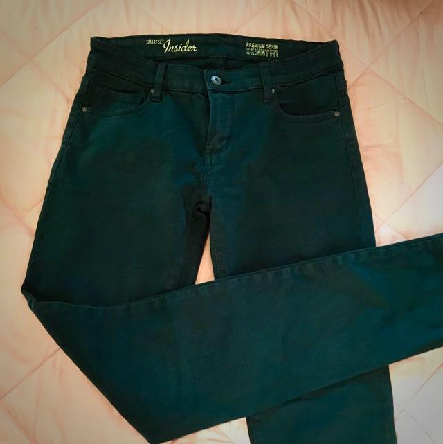Dark Teal Skinny Jeans (27)