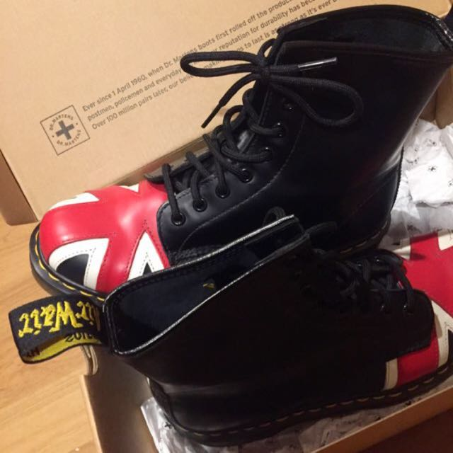 Original Dr Martens Union Jack 8 Eye Boot