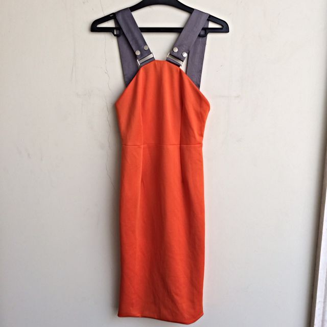 [PRICE DROP!] Dress Orange Victoria Beckham