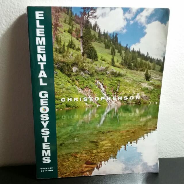 Elemental Geosystems Seventh Edition (Robert W. Christopherson) Pearson