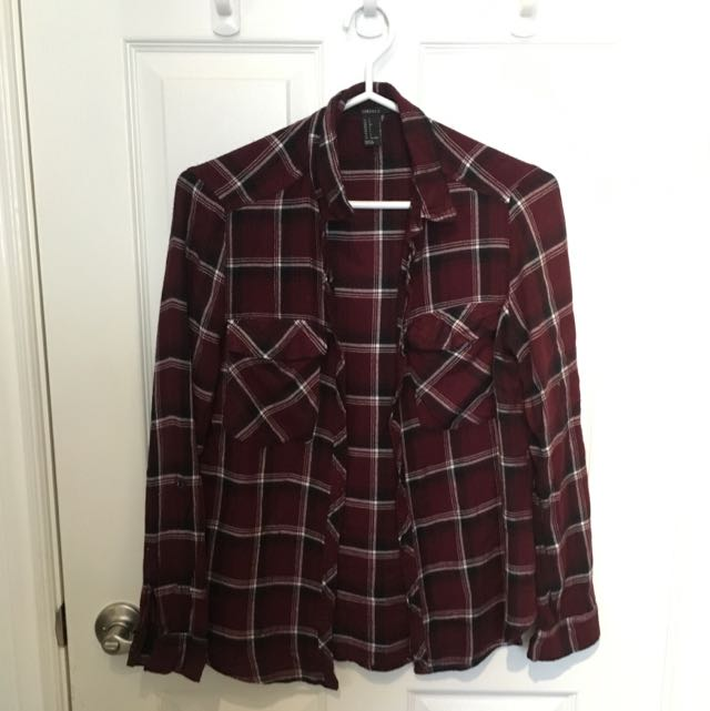 F21 Plaid Shirt