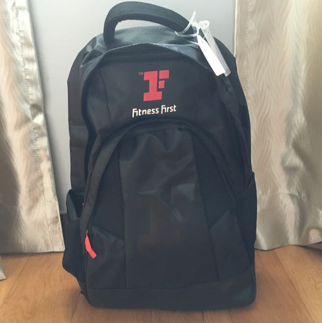 Fitness First Gym Bag/Backpack