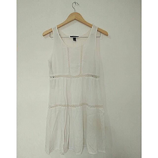 Forever 21 (F21) Little White Dress