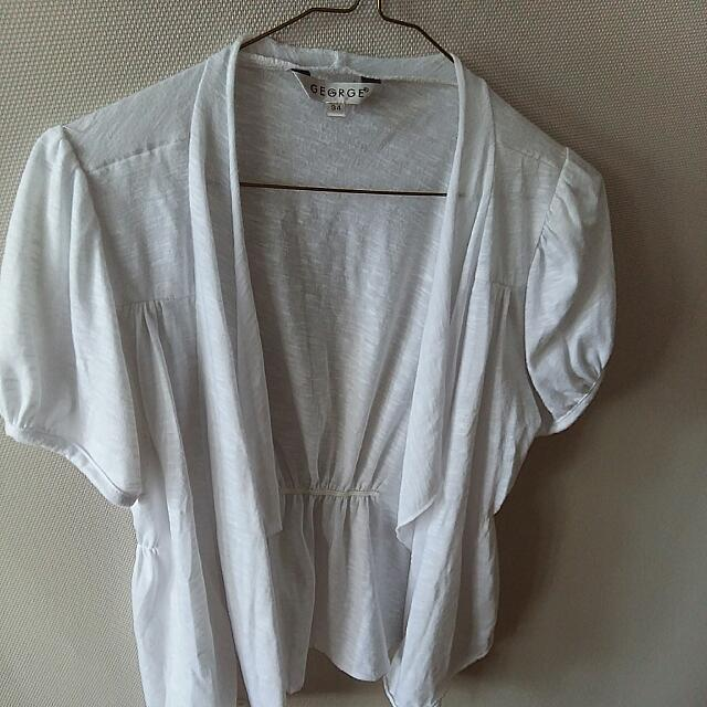 George Cardigan short sleeve