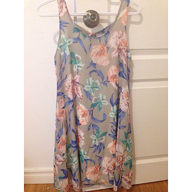 Georgette Floral Dress