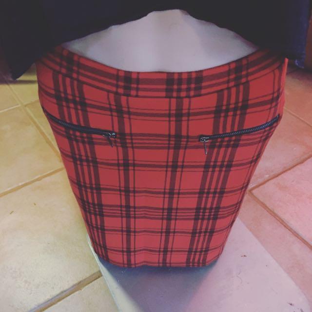 Grunge Sportsgirl Skirt