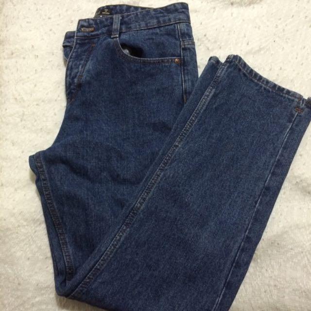 "High-Waisted ""Mom Jeans"""
