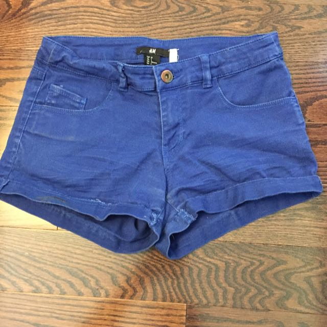 H&M Blue Shorts