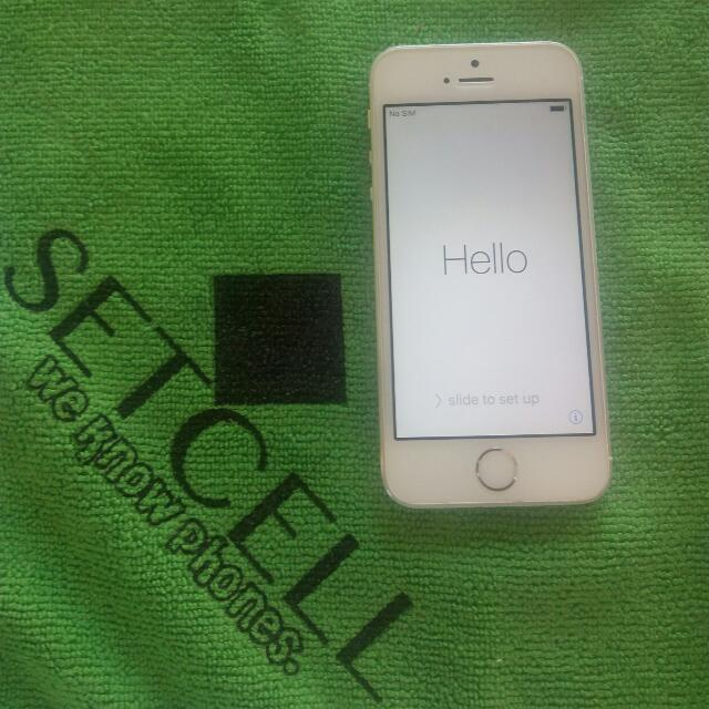 IPHONE 5S 16GB UNLOCKED!!