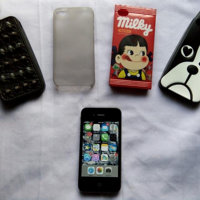 REPRICE iPhone Black 4s 16GB