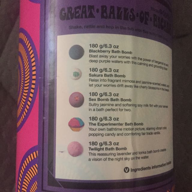 Lush Bath Bombs BNIB