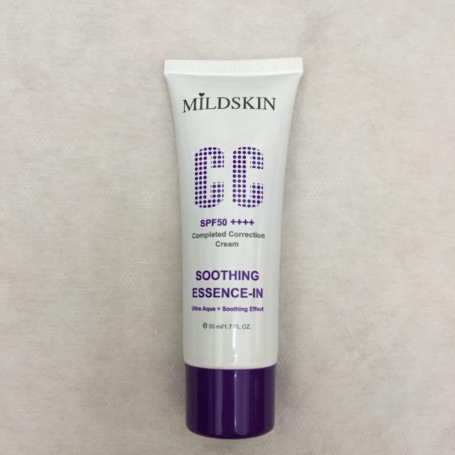 MILDSKIN專科完美修飾CC霜