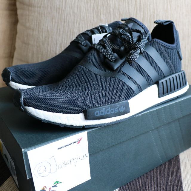 new product 12ca7 72af5 NMD R1 Black Reflective S31505, Sports on Carousell