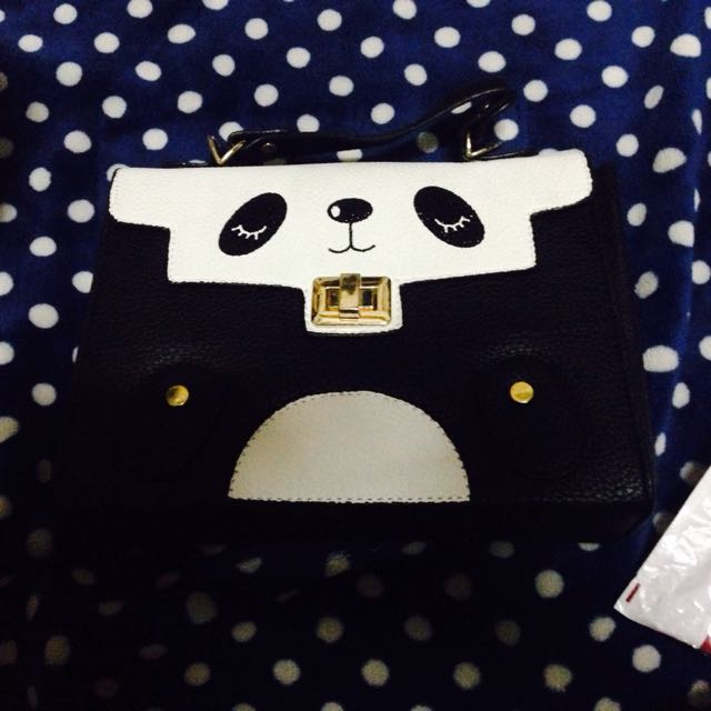 Panda Sling/Shoulder Bag
