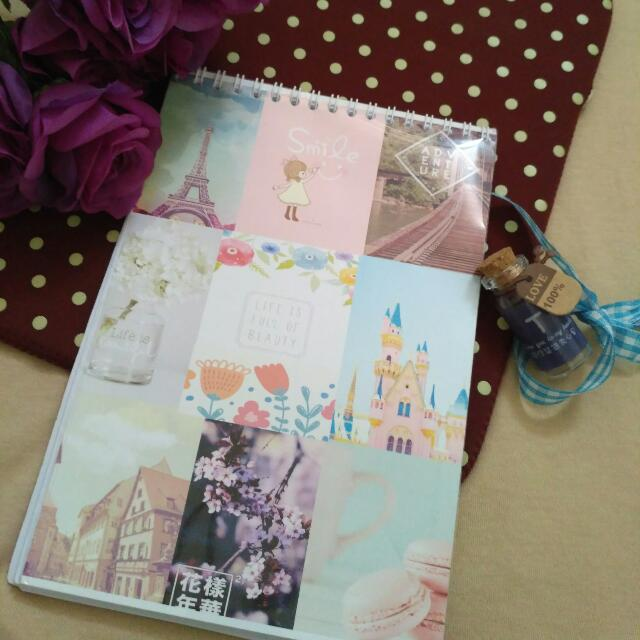 Personal Book & Note (Cover Bisa Reques)