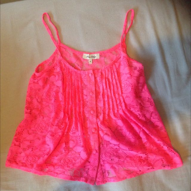 Pink Miss shops Top