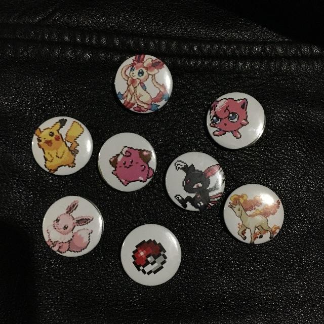 pokemon  ft one suga pins