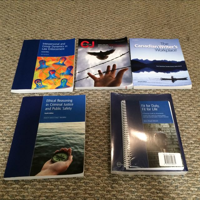 Police Foundation and Border Services Textbooks