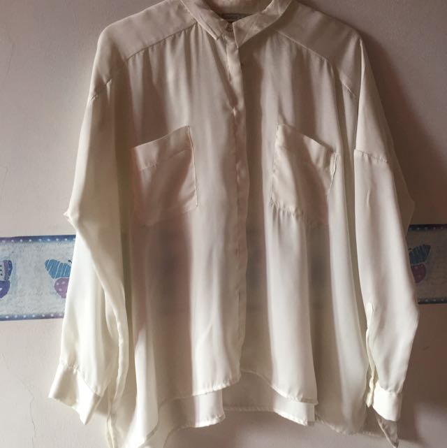 [Pull&Bear] Sheer Shirt