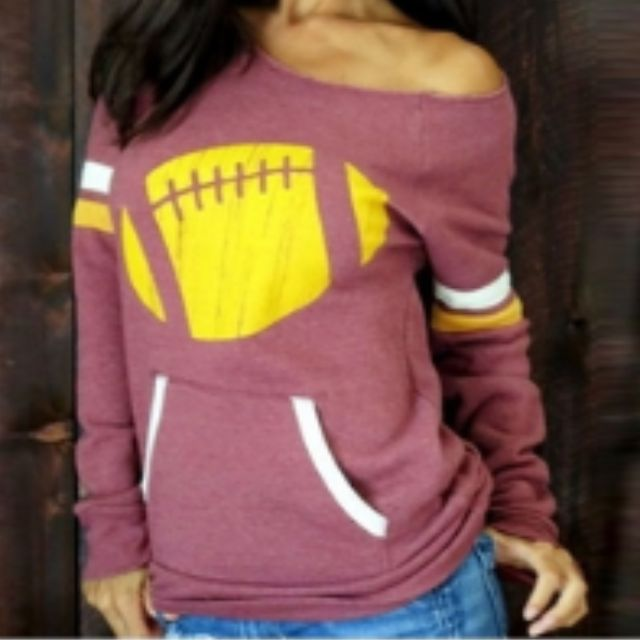 Pullover Oblique Long sleeve