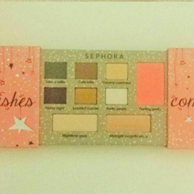 Sephora Collection Wishes Come True Makeup Palette