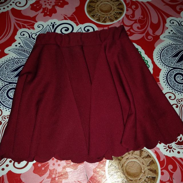 Skirt/rok Maroon