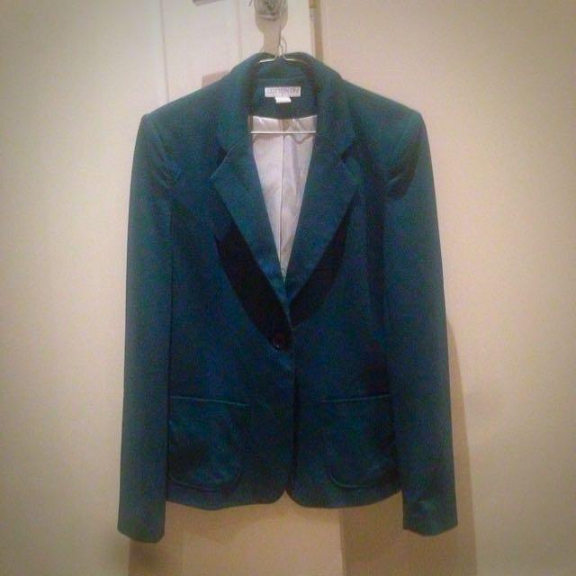 Smart Jacket Teal Colour
