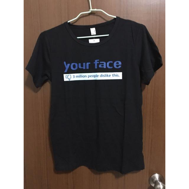 (全新)黑色T恤