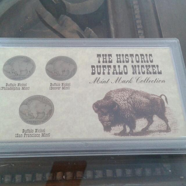 The Historic Buffalo Nickel (Mint Mark Collection)