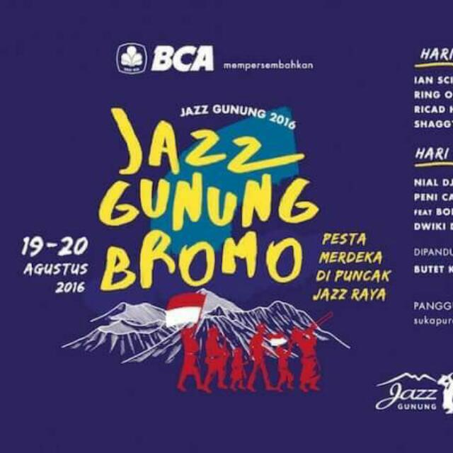 Tiket Jazz Gunung