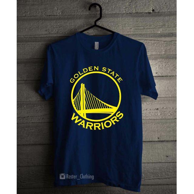 new style 58346 30f8e Tshirt / Kaos Basket /Golden state warriors / GSW / NBA ...