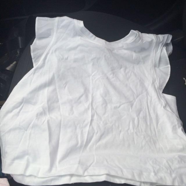 White Forever 21 Tshirt