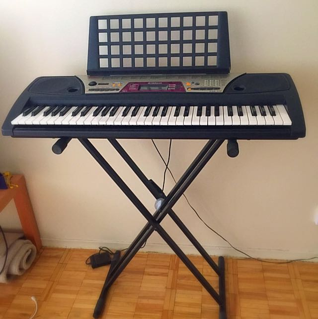 Yamaha Keyboard with Stand Included
