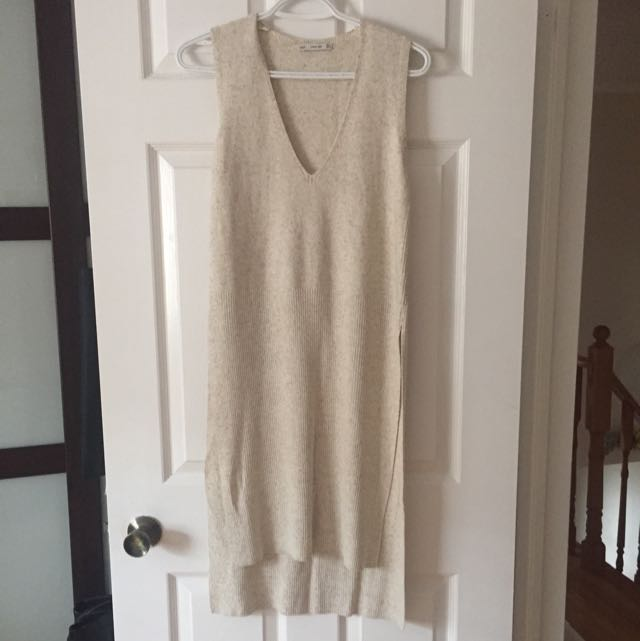 Zara Side-split Knit Top