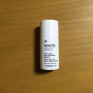 The face shop white seed real whitening essence (sample size)