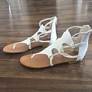 White ALDO Sandals
