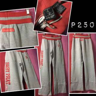 BABY PHAT Red and Grey Sweatpants