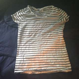 Divided Stripy Shirt