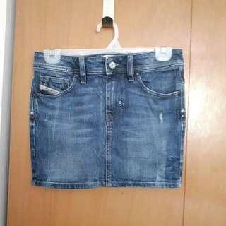 Authentic Diesel Denim Mini Skirt