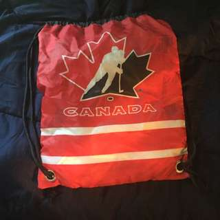 Team Canada Drawstring Bag