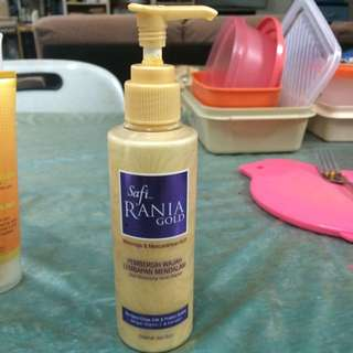 Safi Rania Gold Deep Moisturising Facial Cleanser