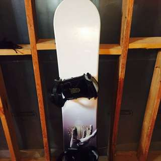 160cm Snowboard With Bindings