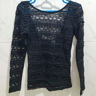 H&M Long Sleeve Lace