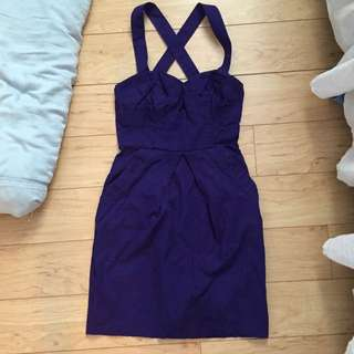 EUC Purple 'Dynamite' Dress (0)